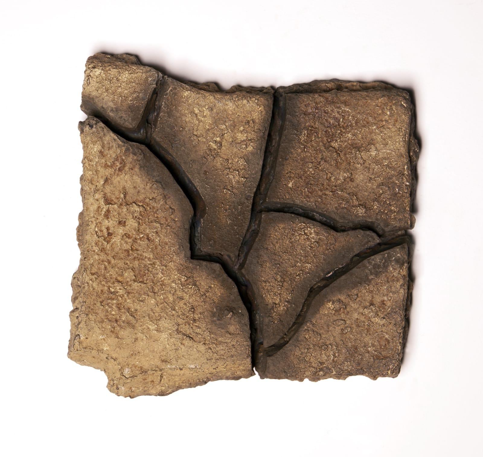 Ella Littwitz Facts on the Ground, 2020 Bronze 21 x 20 x 5 cm 8 1/4 x 7 7/8 x 2 in