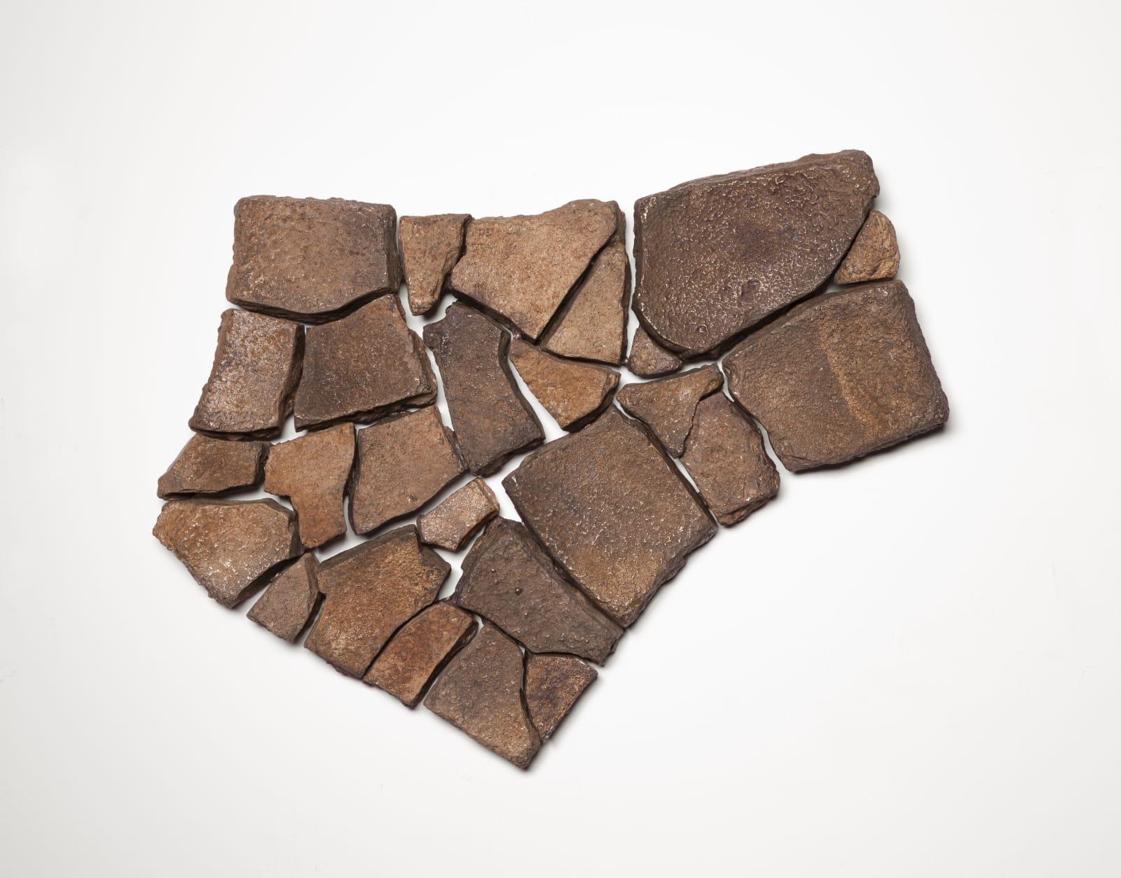 Ella Littwitz Facts on the Ground, 2020 Bronze 41 x 33 x 5 cm 16 1/8 x 13 x 2 in