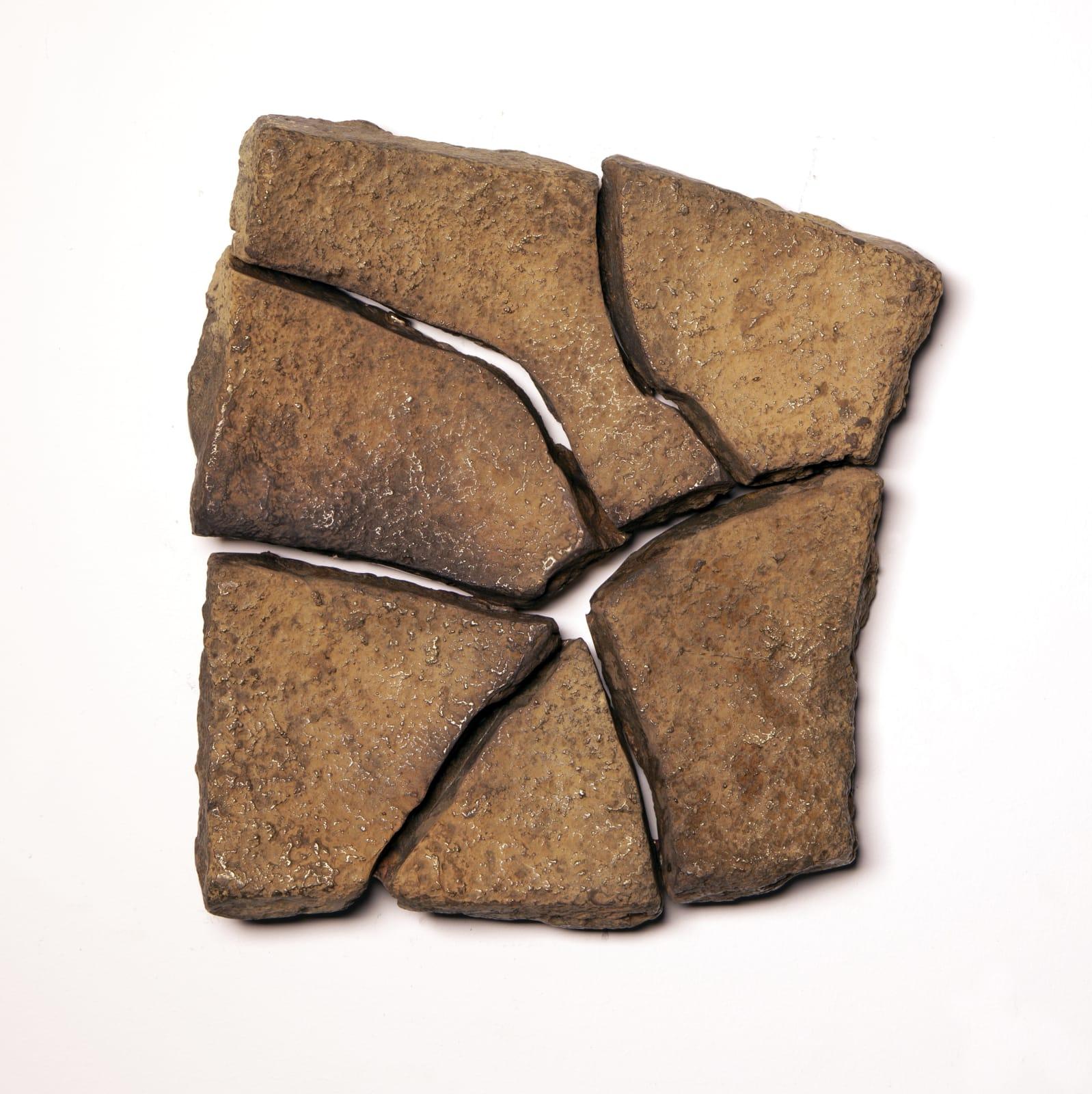 Ella Littwitz Facts on the Ground, 2020 Bronze 21 x 22 x 5 cm 8 1/4 x 8 5/8 x 2 in