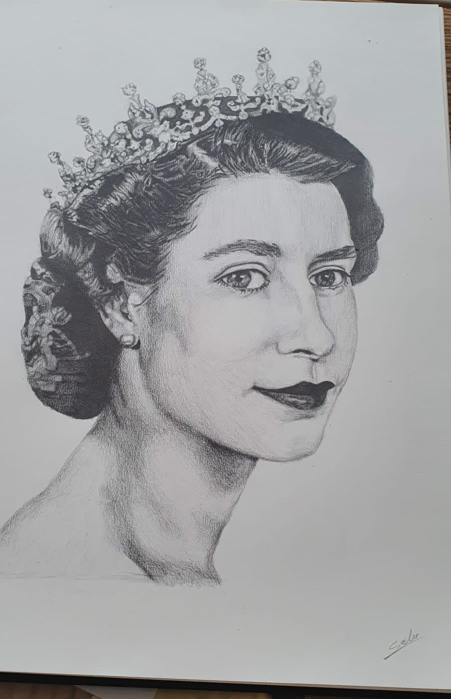 Salustiano Oliveira, age 15 Inspired: Queens by Chris Levine