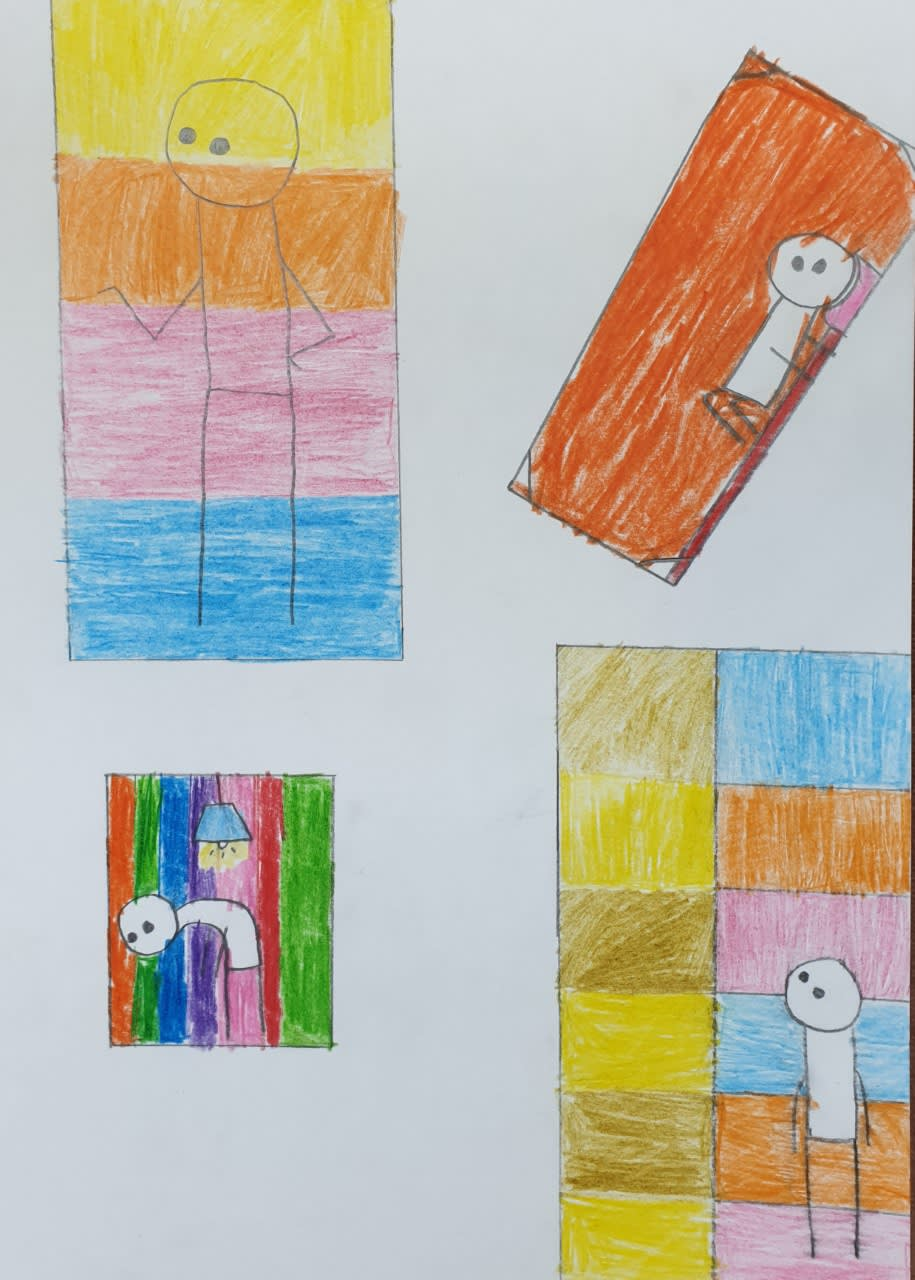 Niamh, age 9 Inspired by Stik