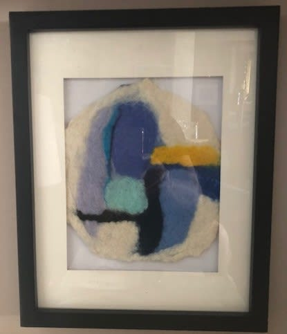 Alexander Travitzky, age 5, Inspired by Victor Pasmore - Points of Contact #25