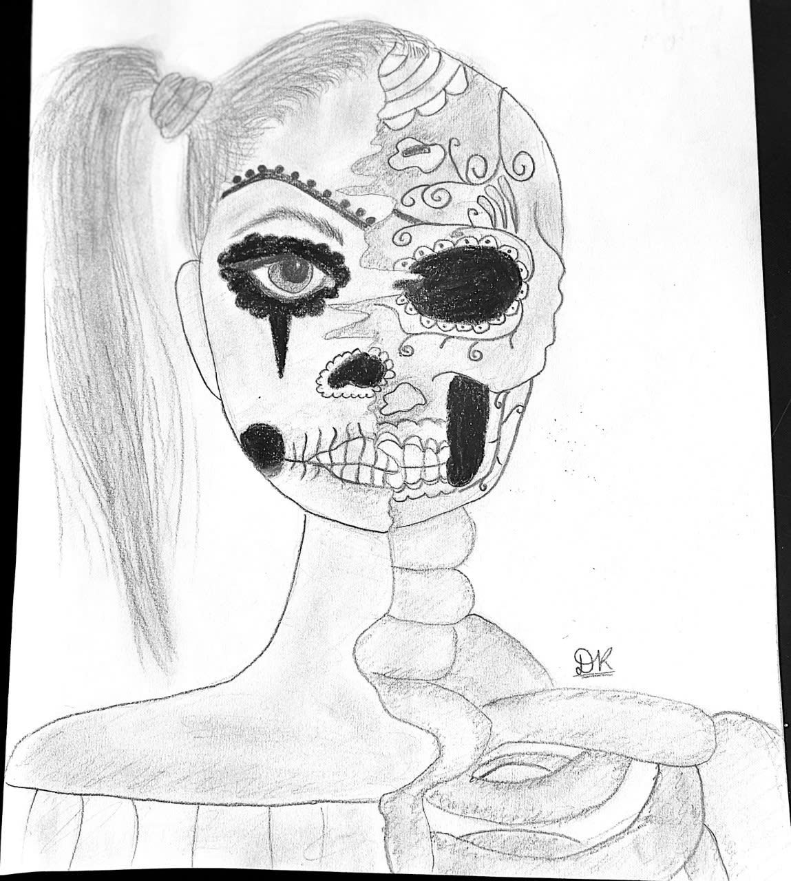 Dhriti Kulkarni, age 11 Inspired by Pablo Picasso, Banksy and Andy Warhol