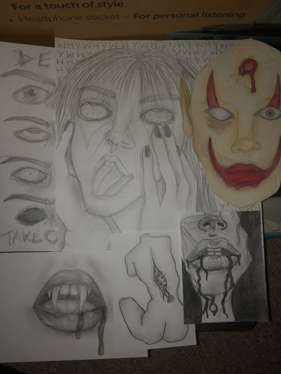 'A series of wicked' Chloe Elise Stevens, age16 Inspired by Pure Evil