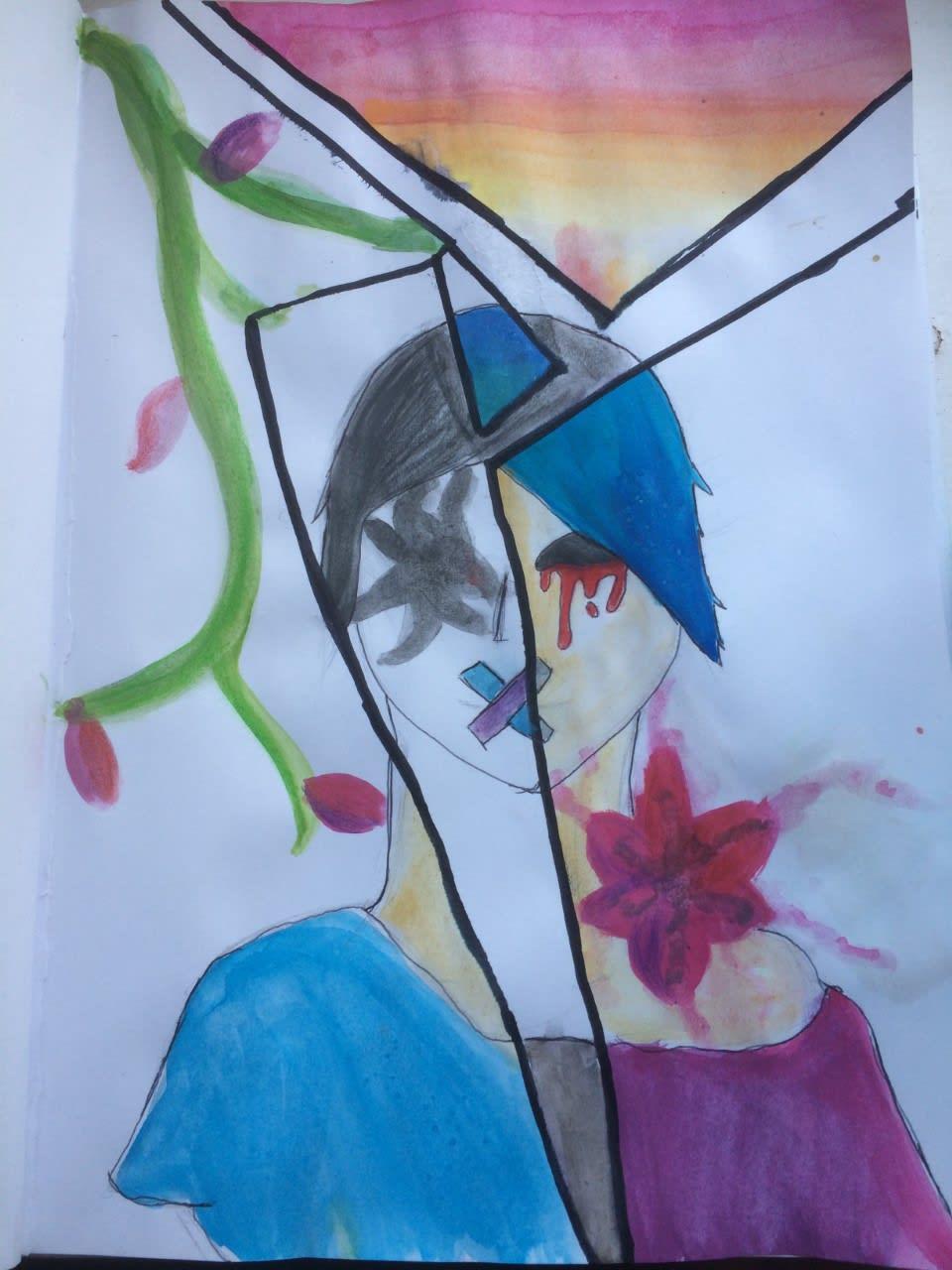 Adrianna Paulina, age 13 Inspired by Antony Gormley