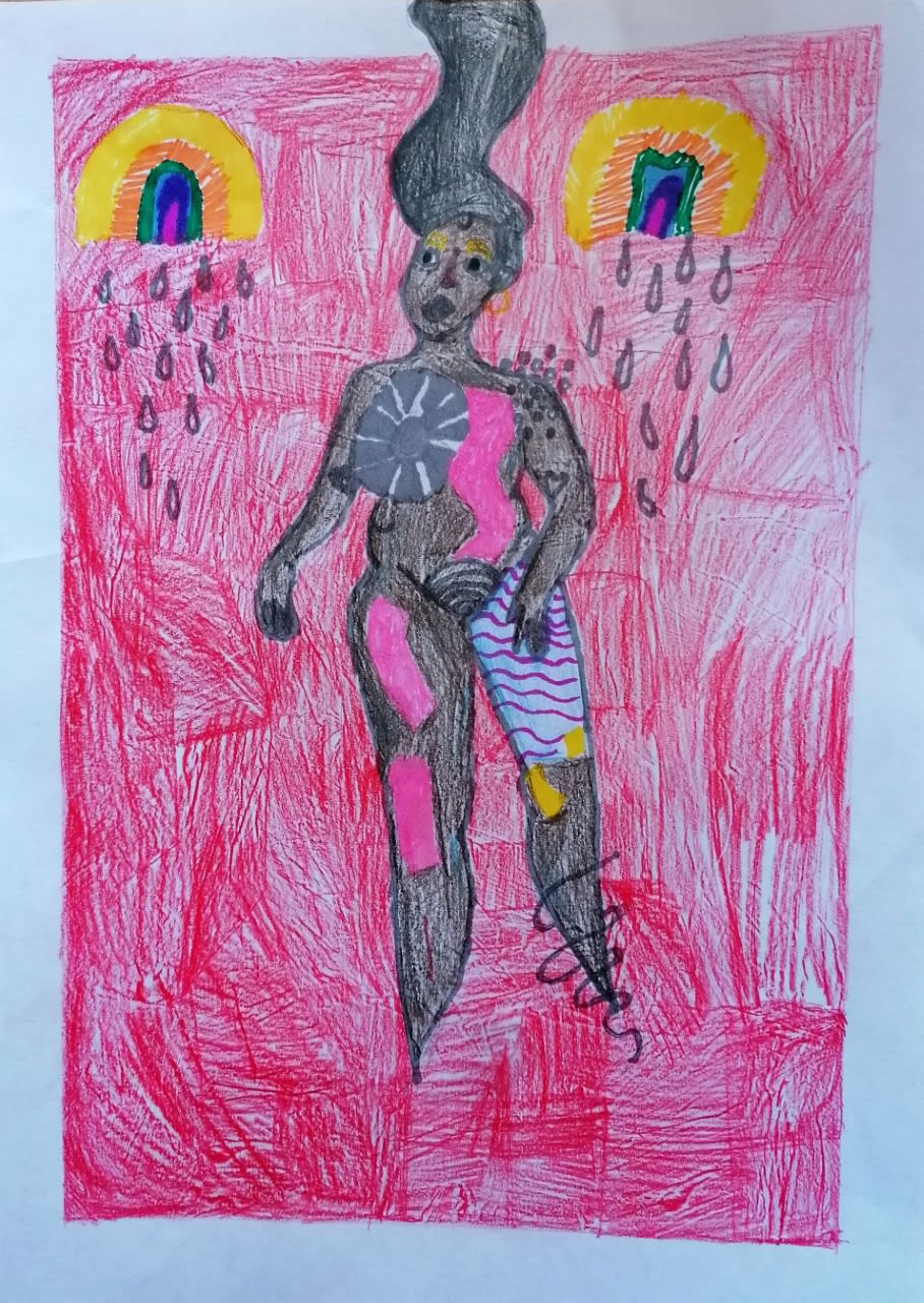 Ariana Farrell, age 10 Inspired by Aphrodite, Victoria Topping