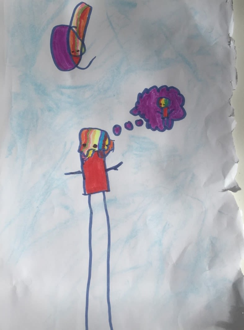 Tadhg Kearney, aged 7 He likes Stik very much.