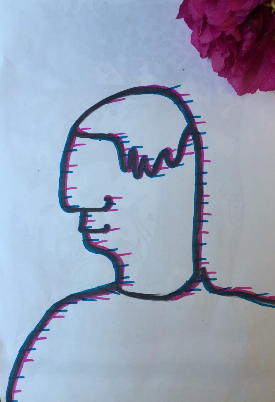 Isla McCaffery, age 10 Inspired by Jean Cocteau