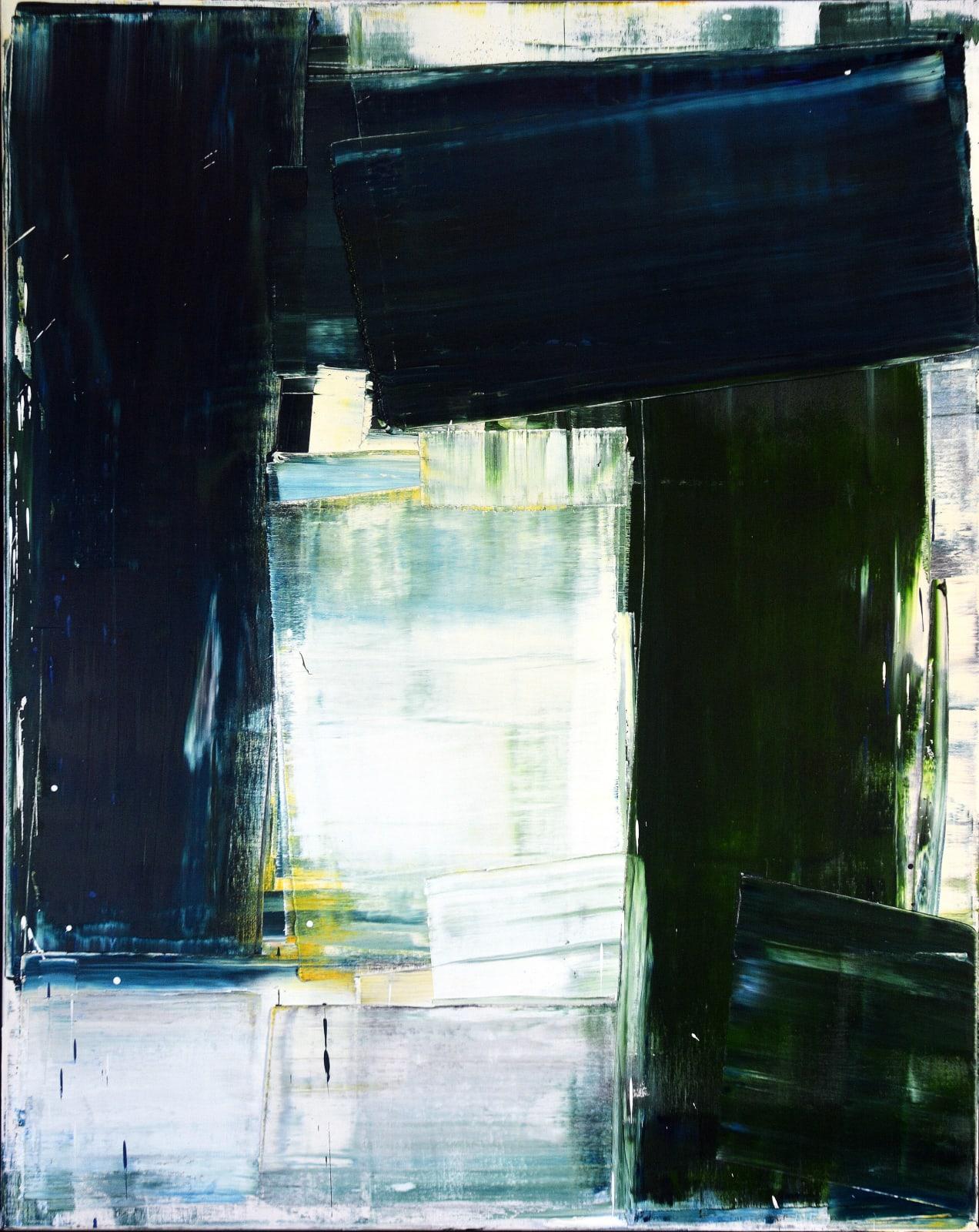 PIVOT, Oil on Canvas, 150 x 120cm