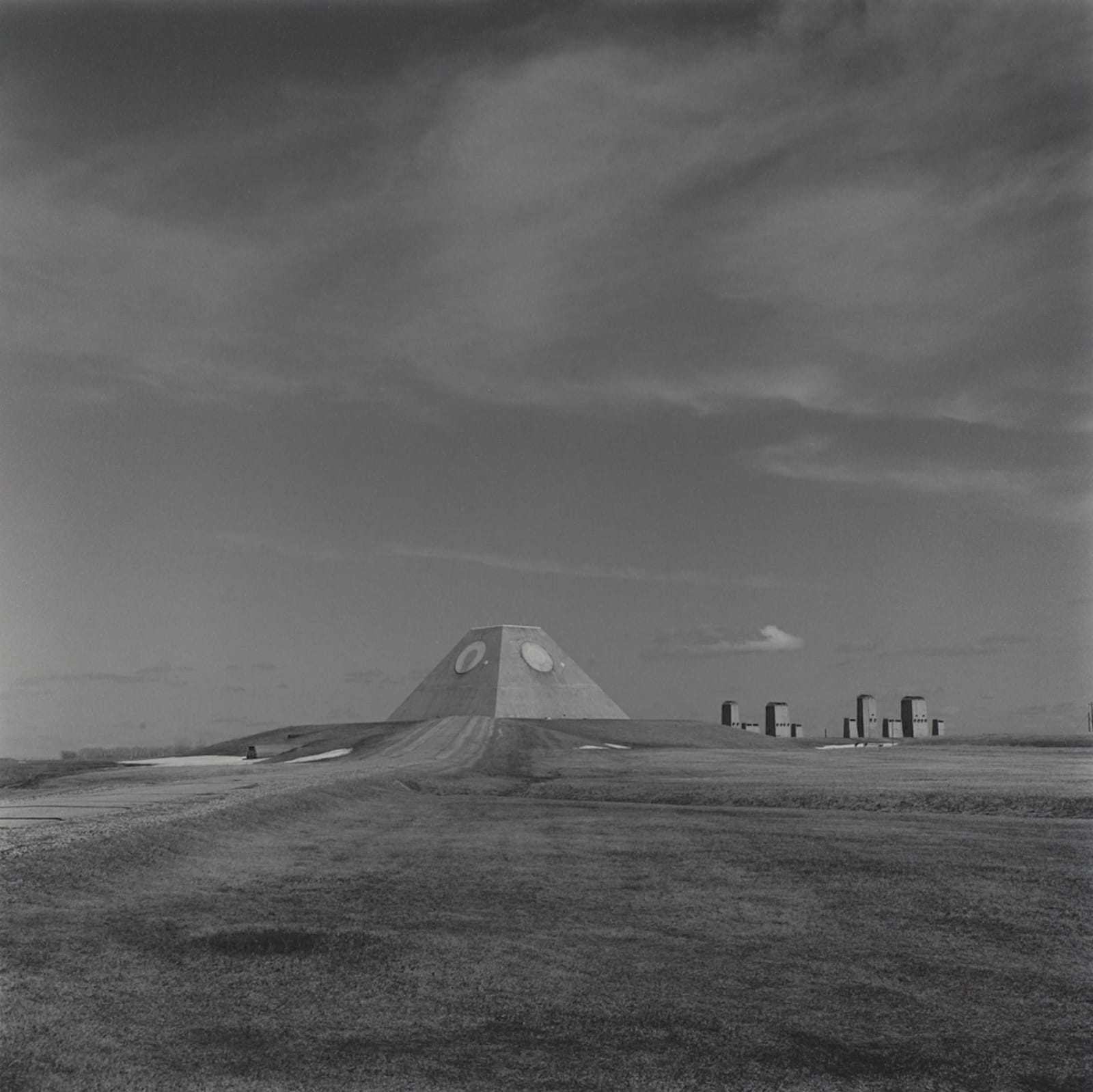 Lynn Davis, Abandoned Missile Site, Cavalier County, ND, 1997