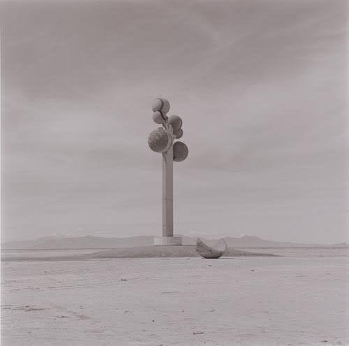 Lynn Davis, Tree of Utah Sculpture Near Wendover, UT, 2000