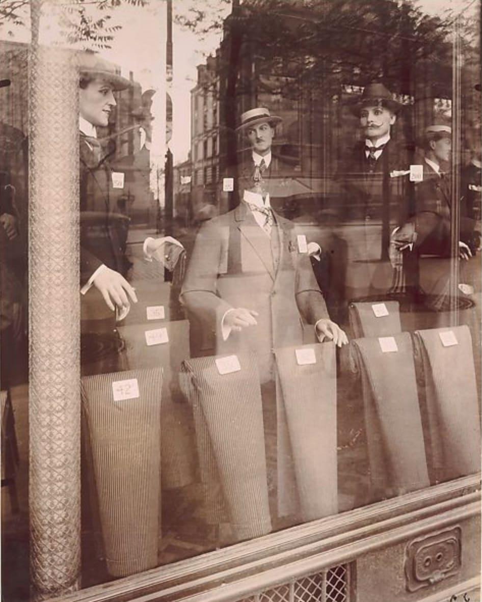 Eugène Atget, Avenue des Gobelins, 1925