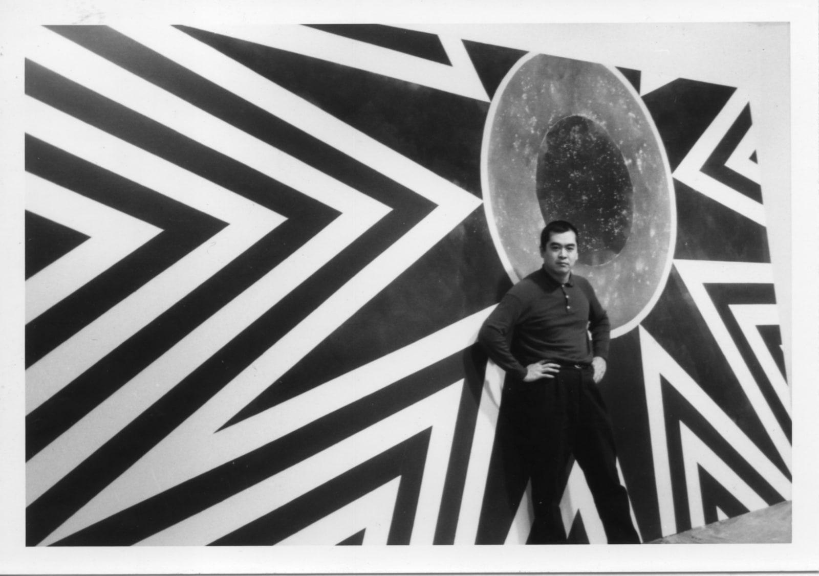 1965, Hsiao Chin in London 1965年蕭勤攝於倫敦
