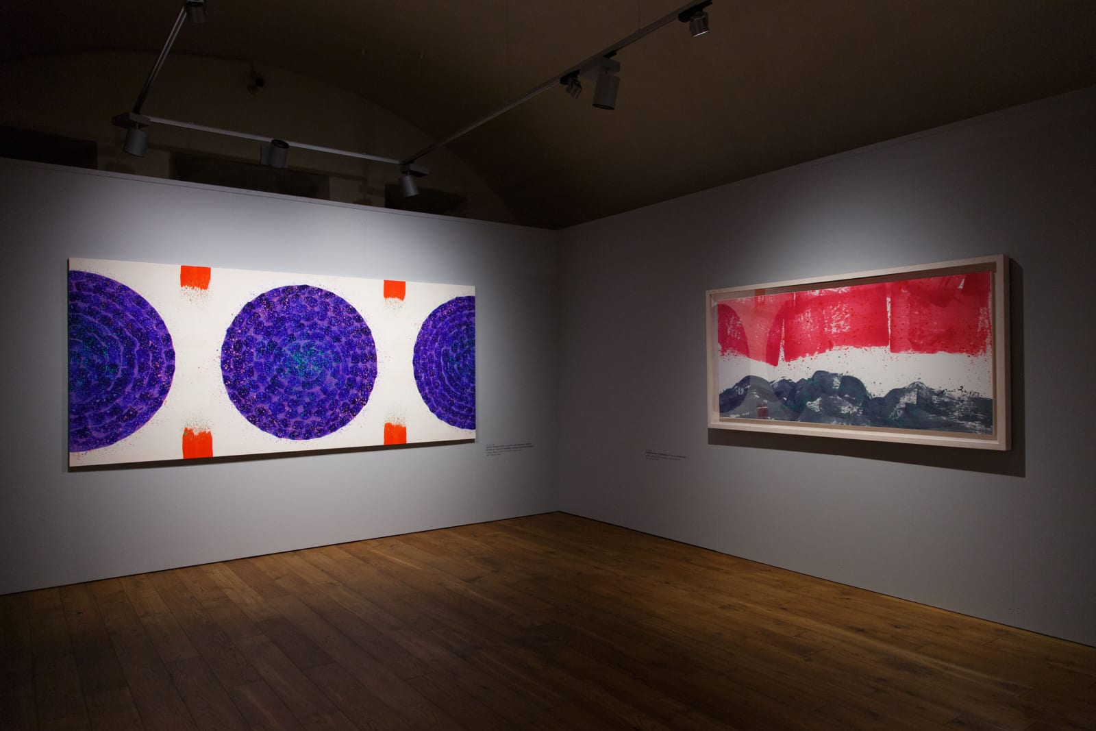 Installation view: In My Beginning Is My End: The Art of Hsiao Chin, Mark Rothko Art Centre, Latvia