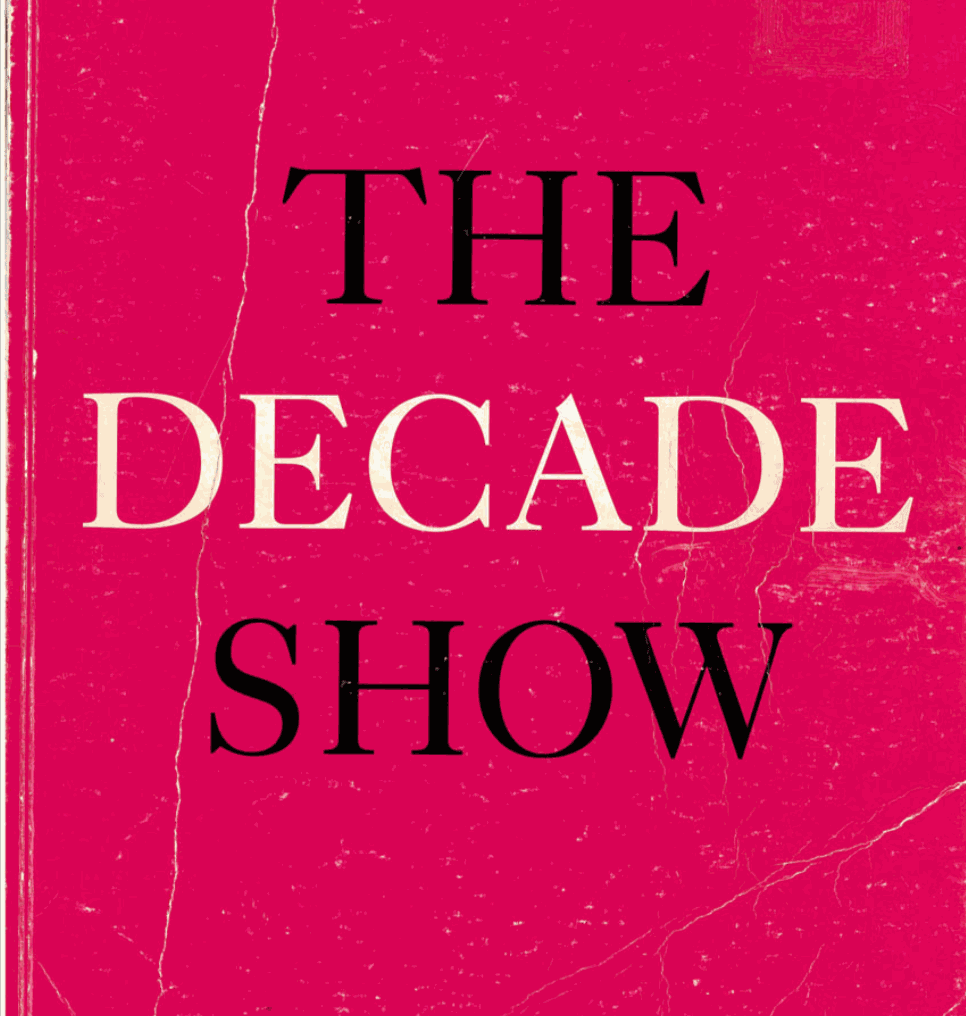 Catalogue Cover, The Decade Show: Frameworks of Identity in the 1980s