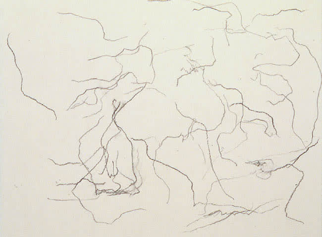 Untitled (New York) 1990 graphite on paper 8.25 x 10.75 cm