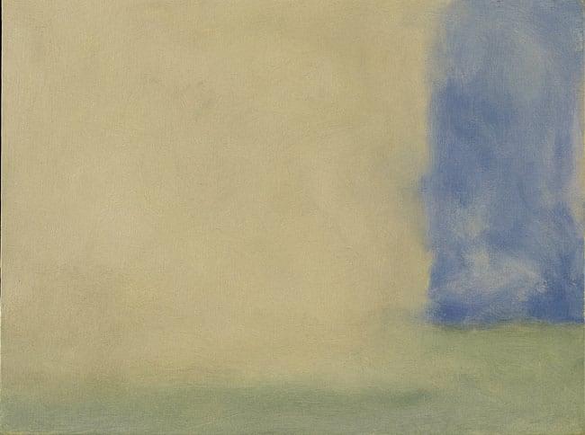 Sleat Veil III 1969 oil on canvas 18 x 24 in