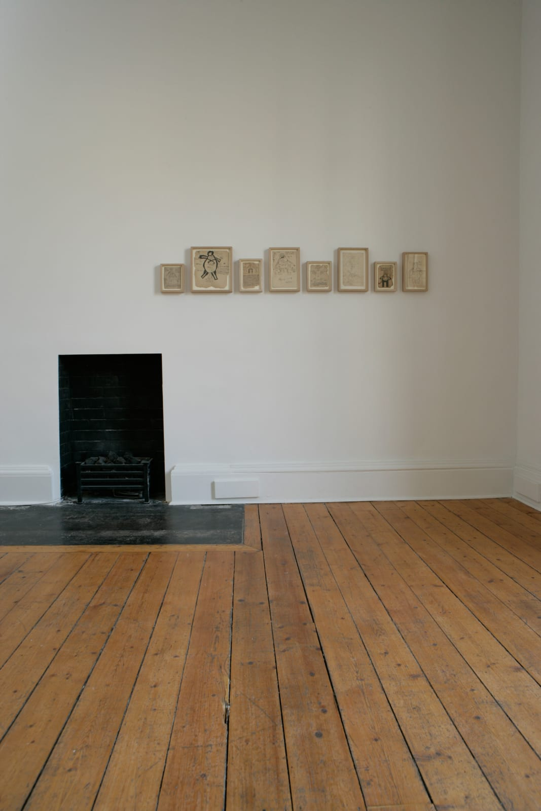 Installation view of the exhibition Alexander Gorlizki & Indian Spells - Drawings from the 19th Century