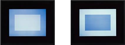 Equos Diptych July 2006 unique light, oil, dye destruction print 40.6 x 50.8 cm (print size) 45.7 x 55.9 cm (framed)