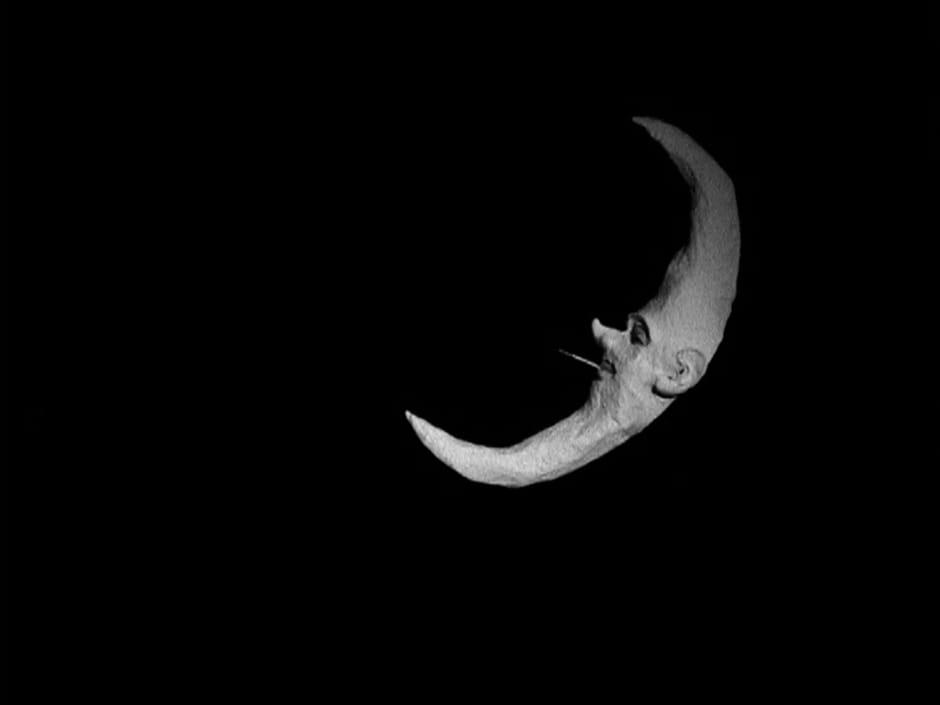 David Austen Smoking Moon, 2006 DVD projection 13 minutes