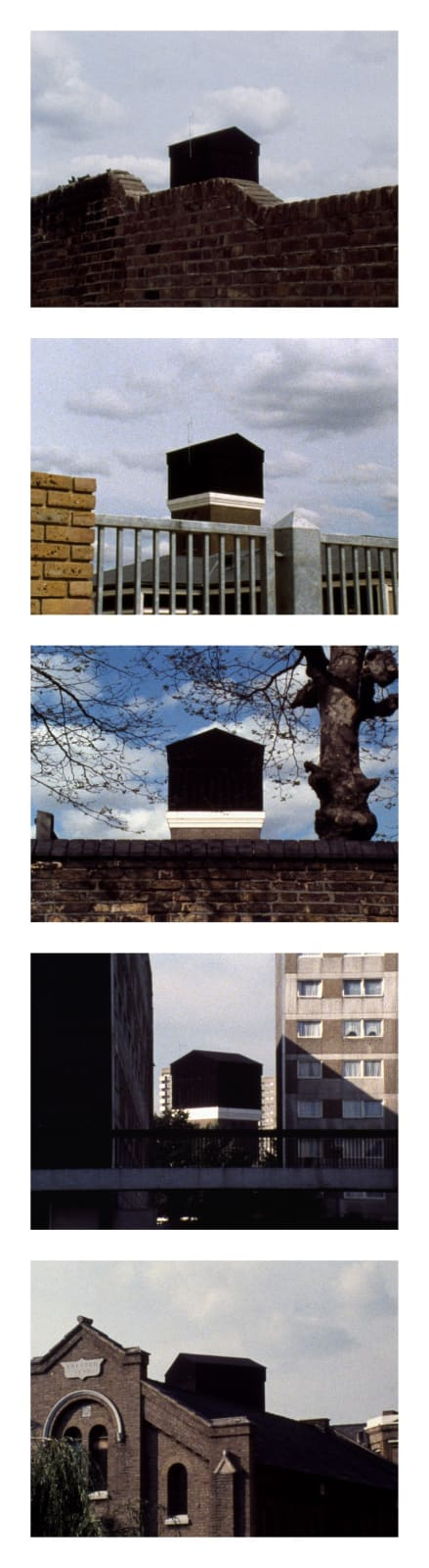 John Smith 5 frames from The Black Tower, 1985-7, #1