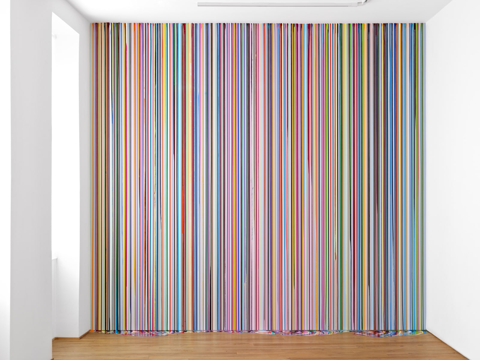 Ian Davenport Ingleby Wall Painting (after Carpaccio), 2011