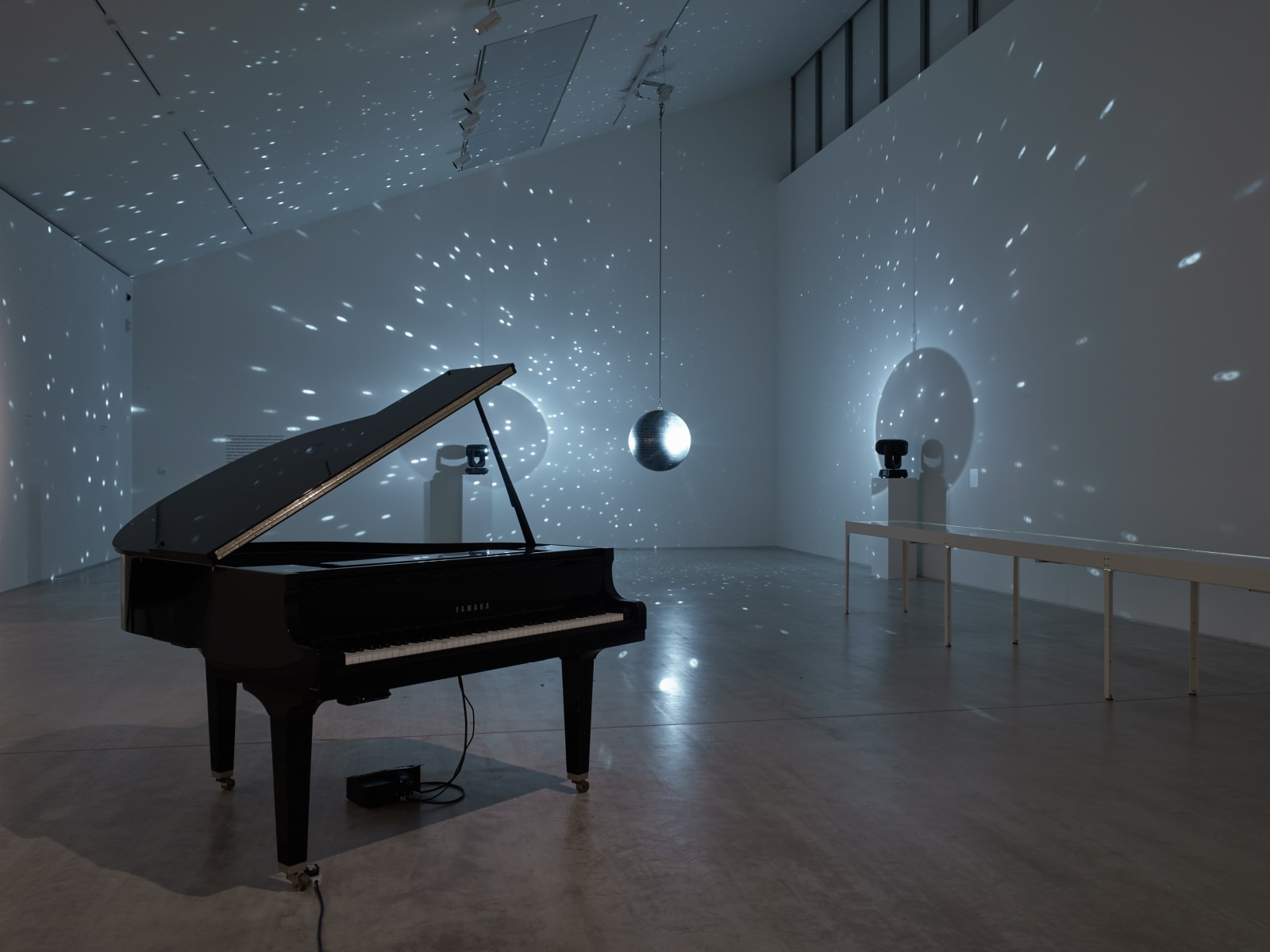 Installation view of A place that exists only in moonlight: Katie Paterson & JMW Turner Turner Contemporary, Margate, 26 January...