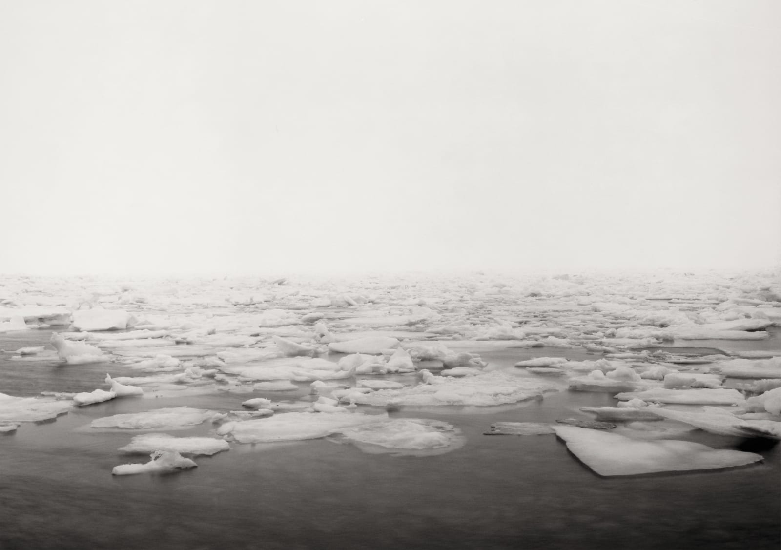 Thomas Joshua Cooper, North! The First Landing Site, Afternoon Drifting Fog, the Spring Equinoctial Ice Flow—The North Atlantic Ocean, L'Anse...
