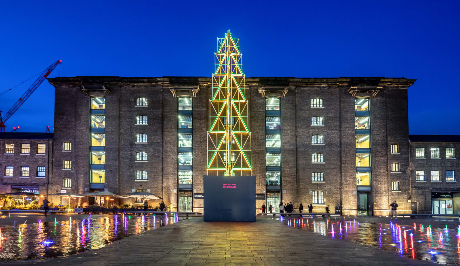 Originally commissioned for King's Cross Central by King's Cross Central Limited Partnership and Rebecca Heald. Photo: John Sturrock.