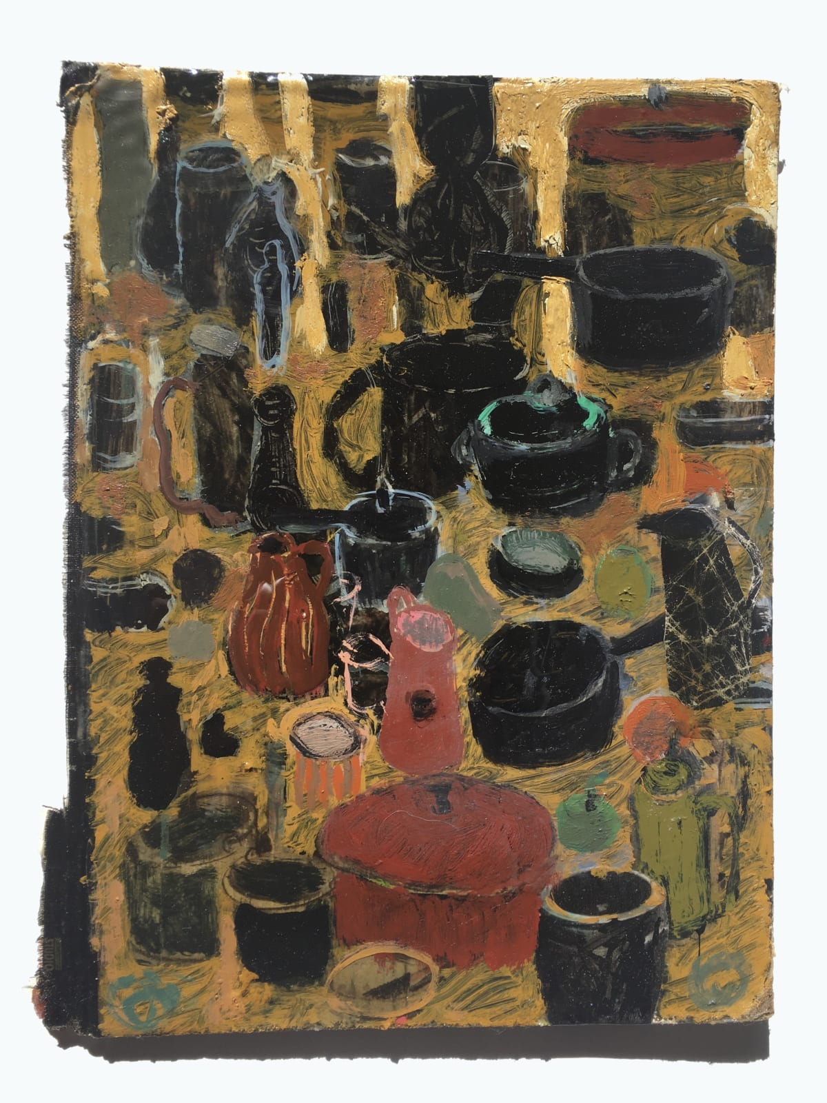 Andrew Cranston Still life with Pots and Pans, 2020