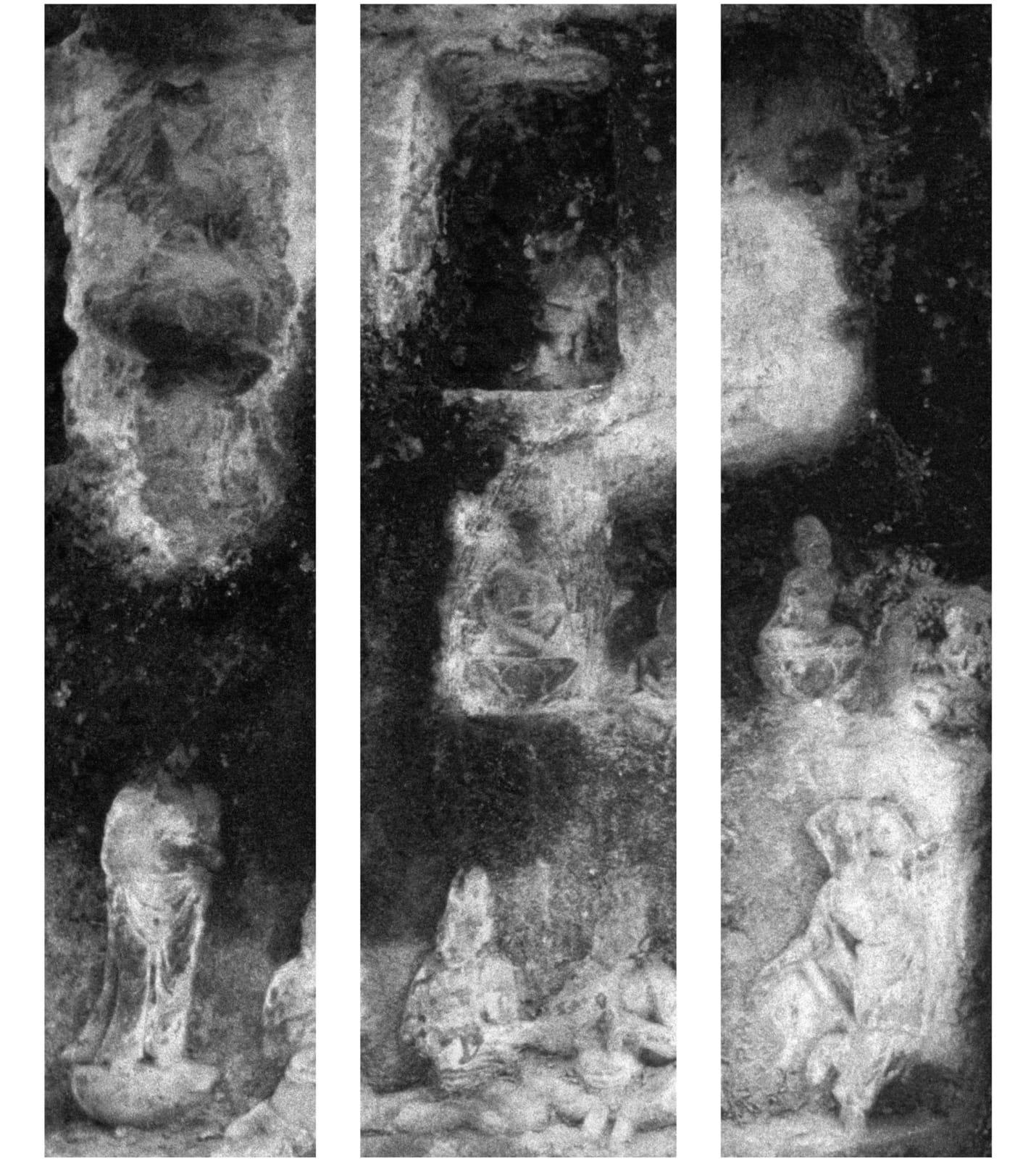 Michael Cherney 秋麦, Shadow Curtains #2 (Longmen) 影幔#2(龙门), 2007