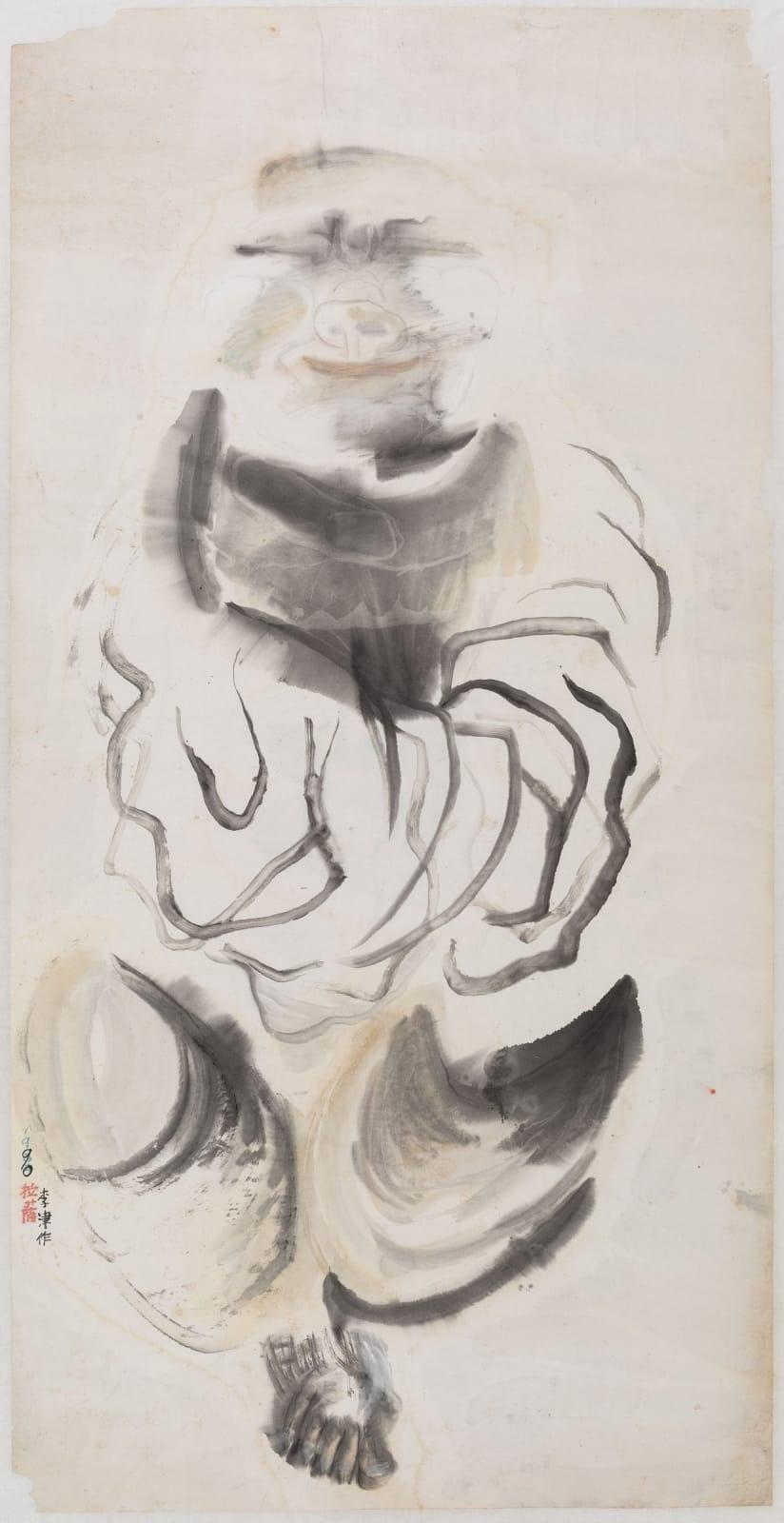 Li Jin 李津, Buddha's Shadow 佛影, 1992