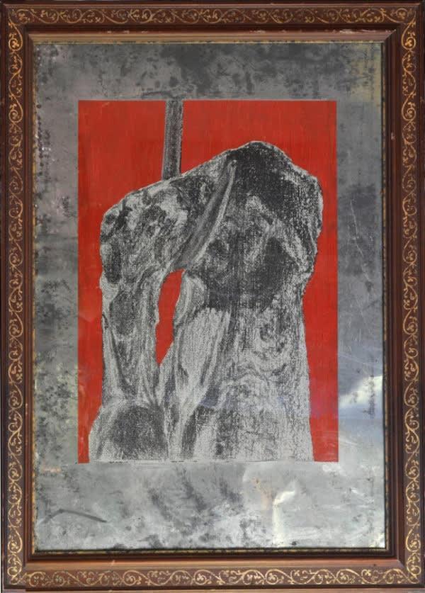 Carlos Gallardo, Torso, 1976, Serigraphy on tin, 55,5 x 38 cm. Unique.