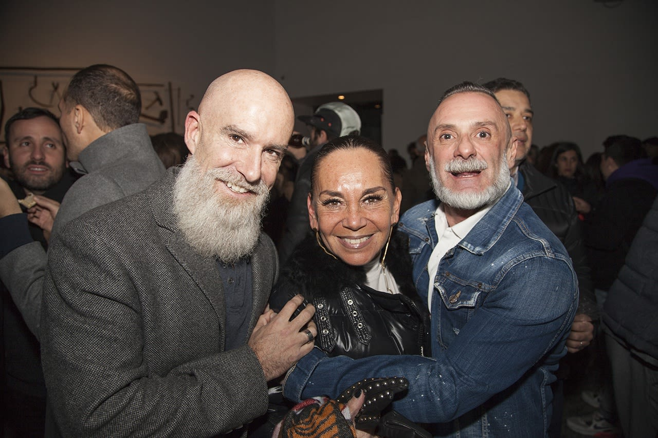 Oscar Lizarralde, Anita Garrido and Luis Bellocchio. Photo: Cristián Aninat.