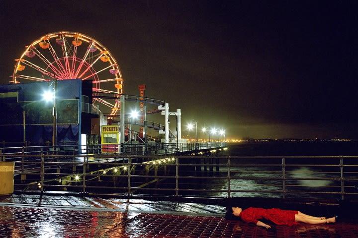 Melanie Pullen Ferris Wheel (From High Fashion Crime Scenes), 2005 c-print 48 x 72 inches