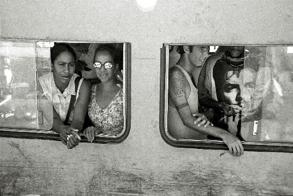 Lissette Solórzano Untitled, from the series Rail-Road, 2002 gelatin silver print 16 x 20 inches