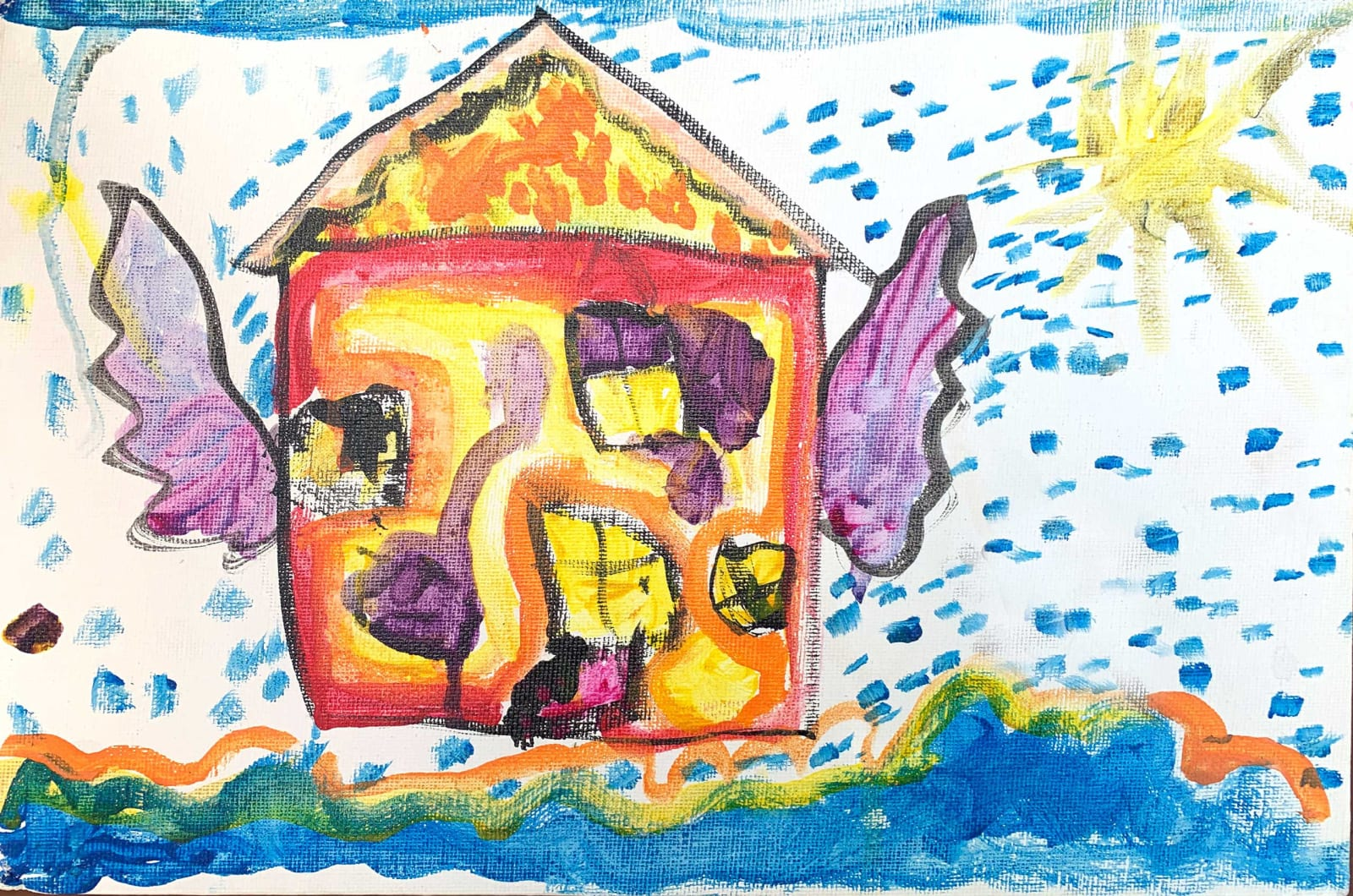 Anjelica Goodby, Age 6, Flying House