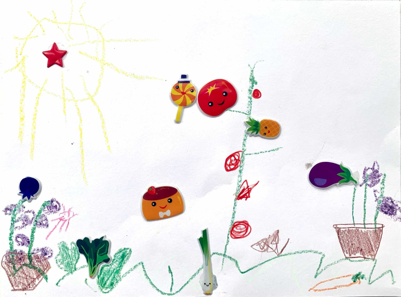 Cosmo French, Age 4, Untitled