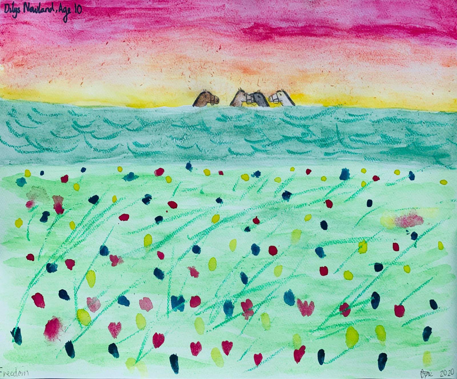 Dilys Newland, Age 10, Freedom