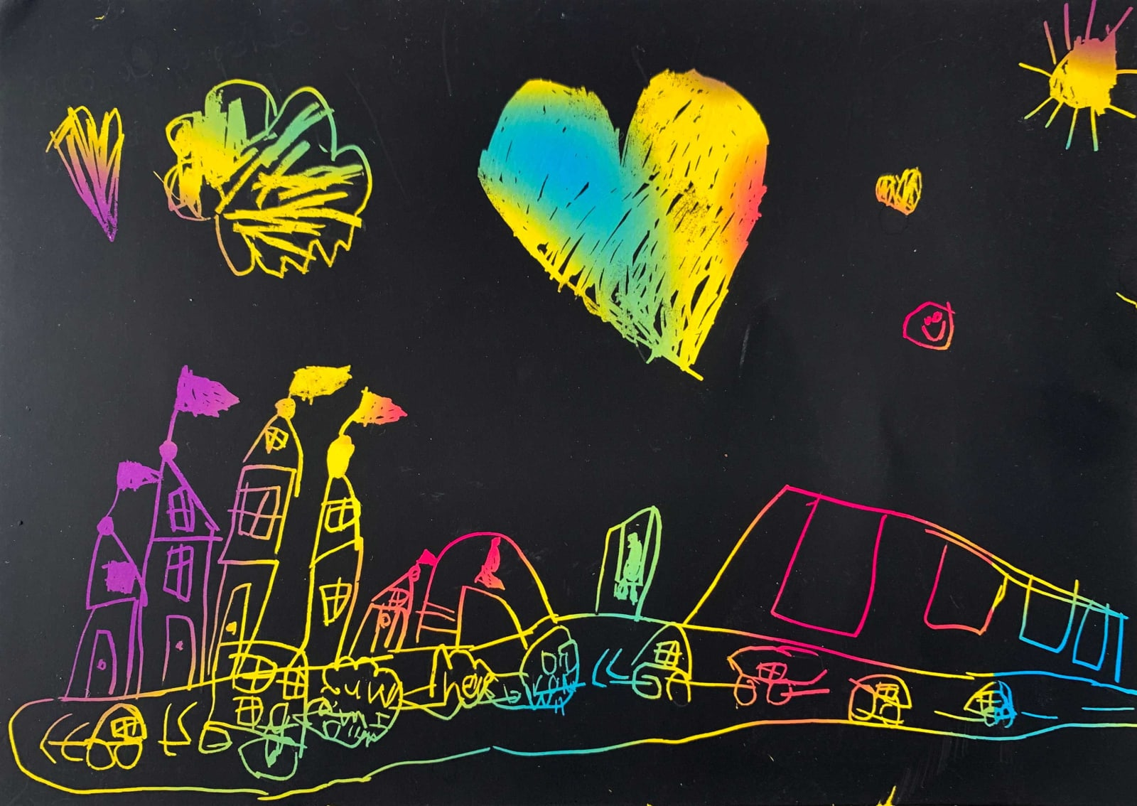 Hannah Armstrong, Age 6, Untitled
