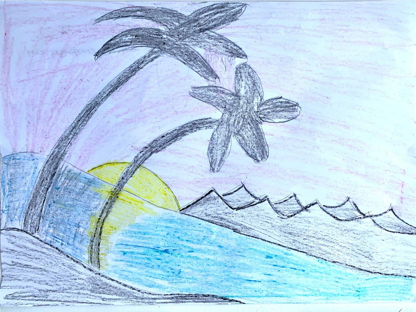 Sienna Kurylo Age 7, Sunset