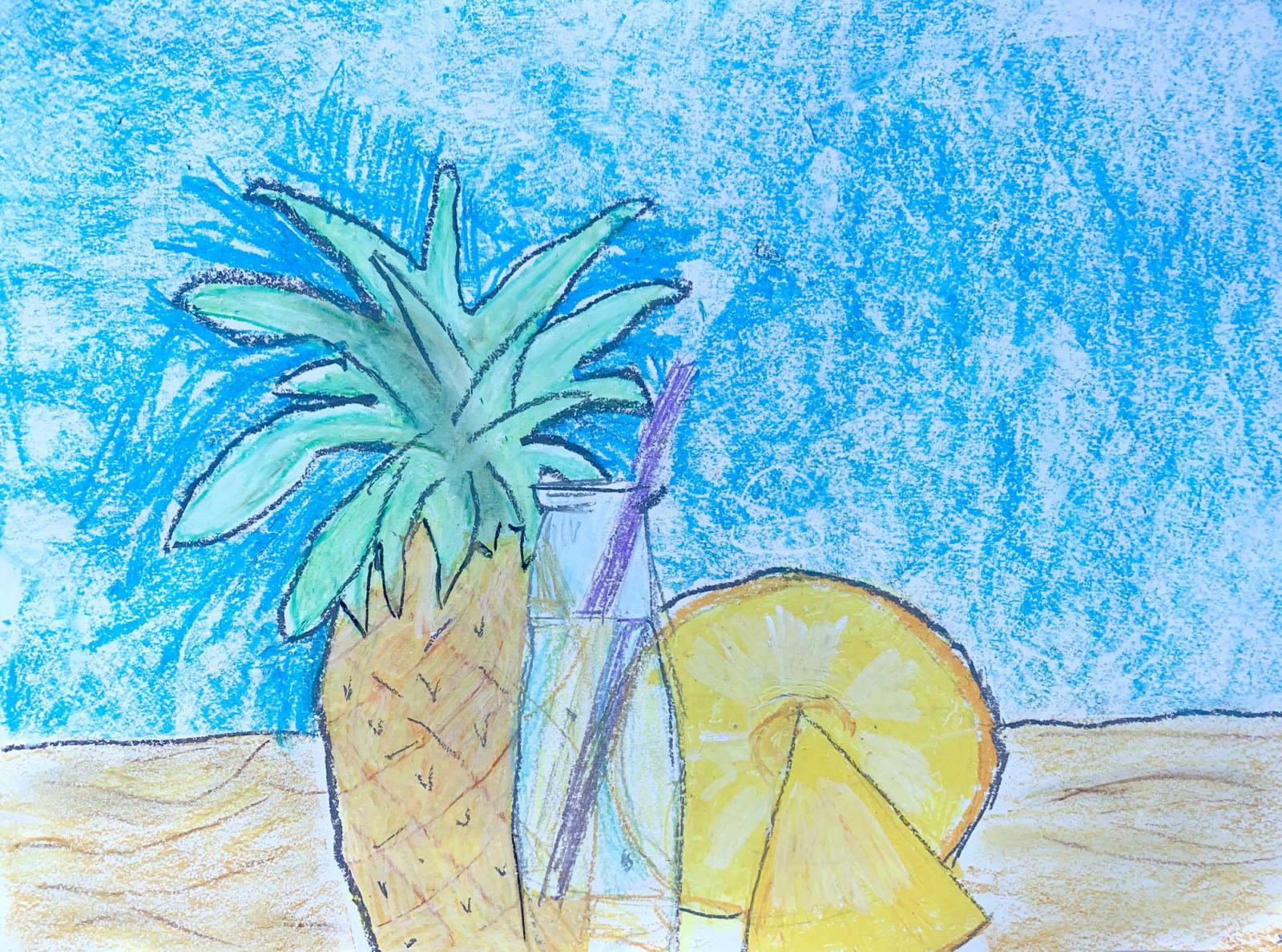 Talia Sokal, Age 7, Pinapple Sunshine
