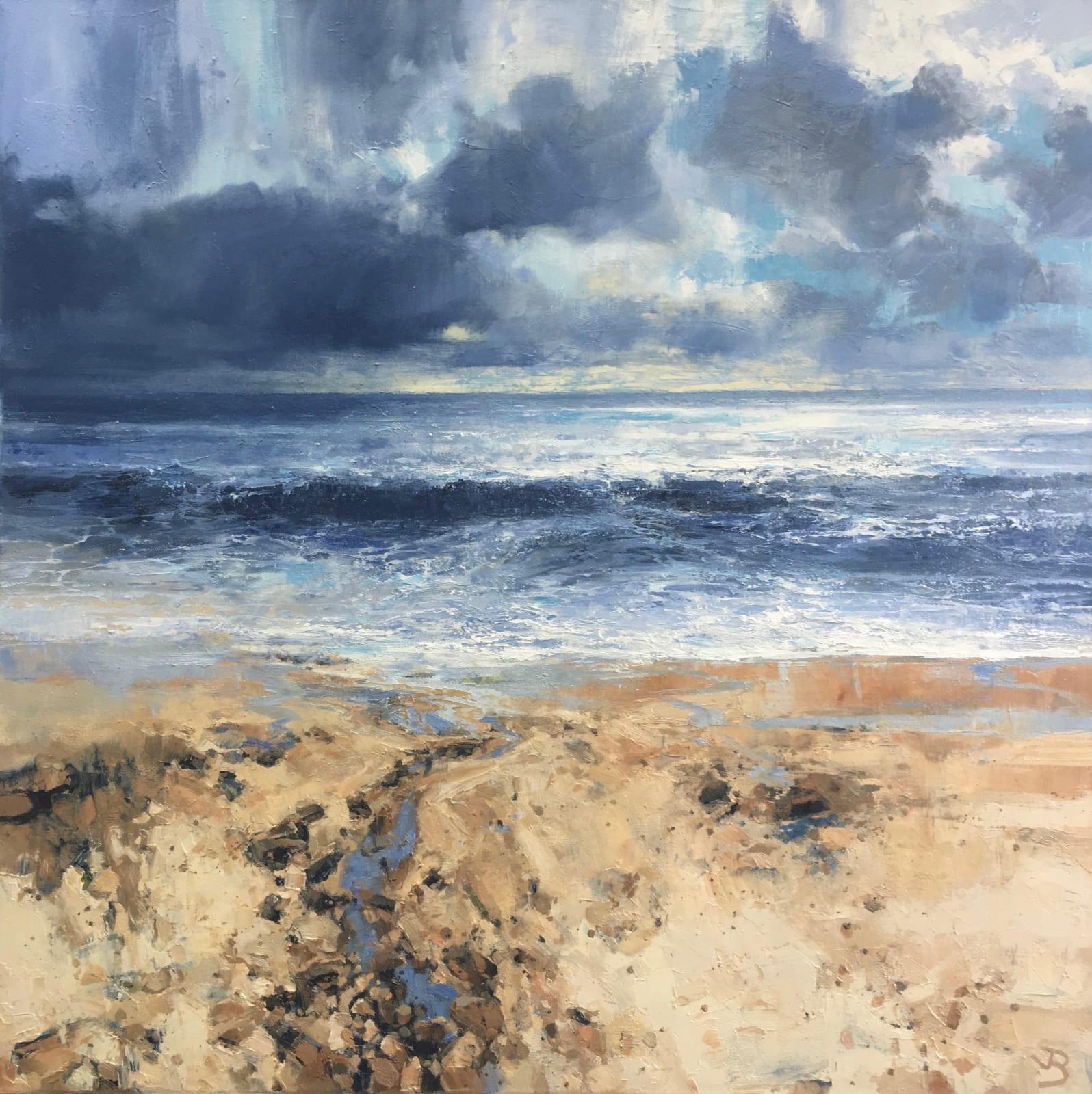 John Brenton Ocean Flow Oils 91 x 91 cm