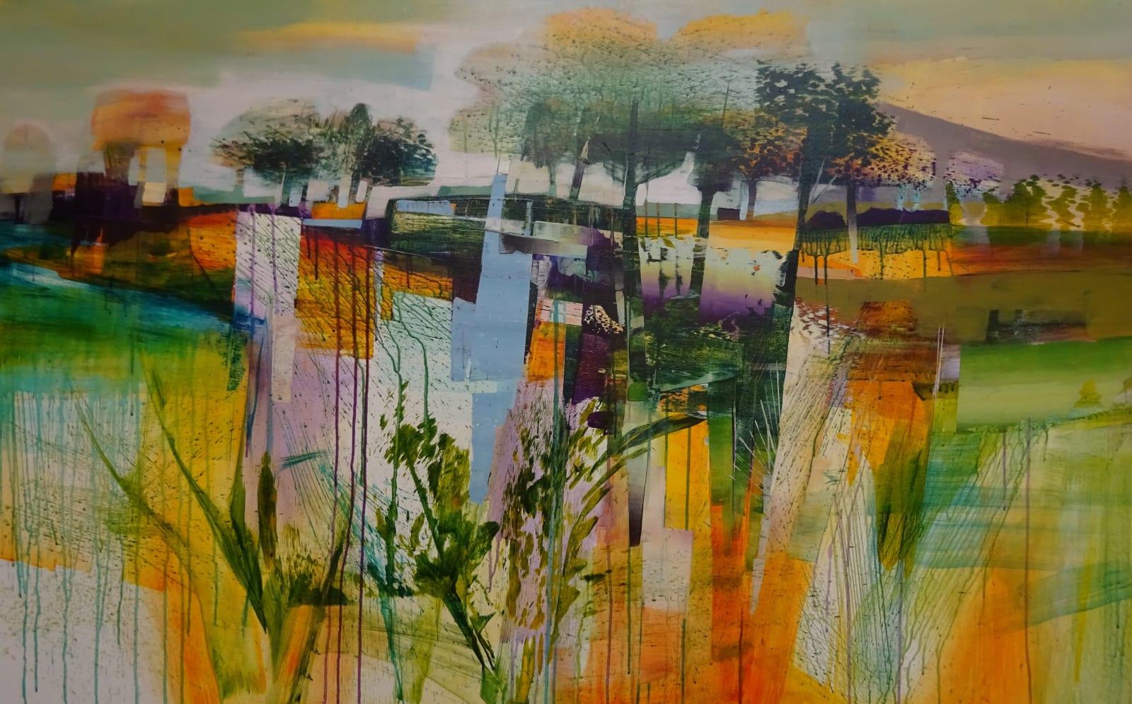 Celia Wilkinson Bring me sunshine Acrylics