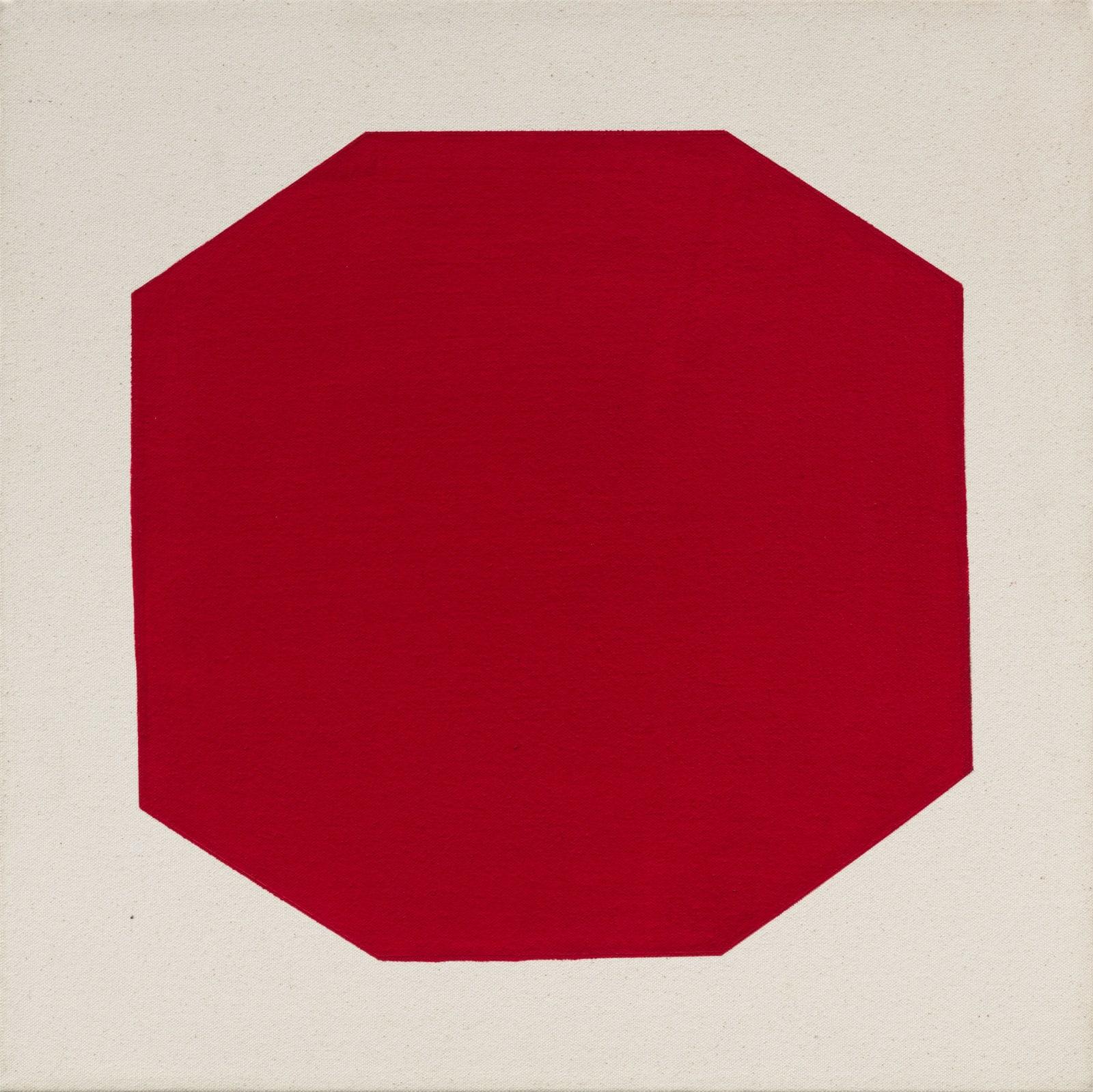 Julie Umerle, Polygon (red), 2018