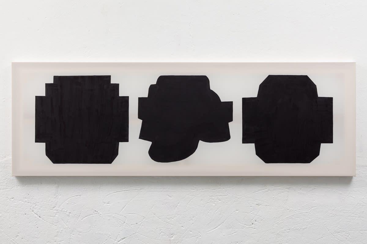 Julie Umerle, Rewind Triptych, 2015