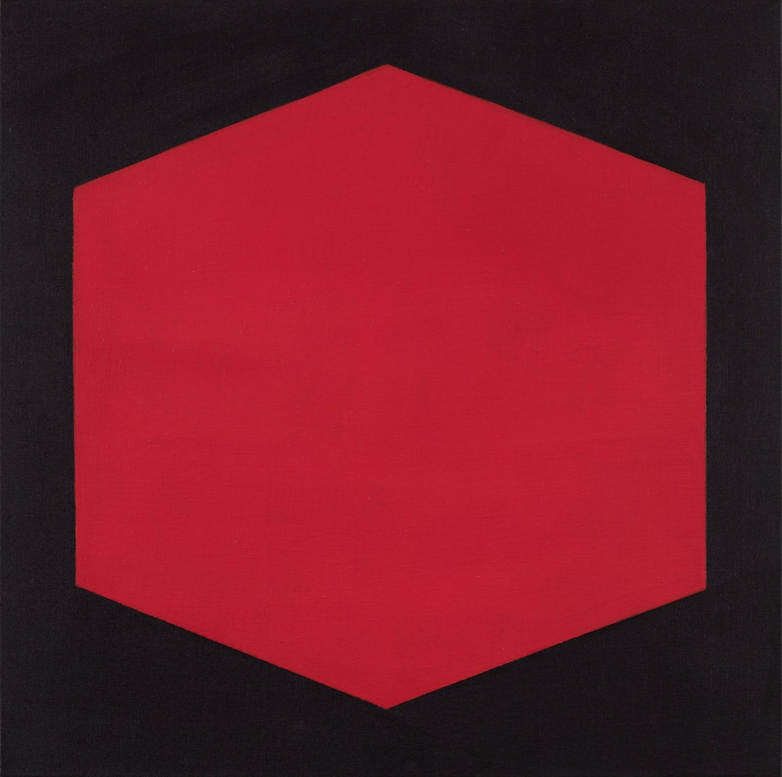 Julie Umerle, Polygon II (red), 2020
