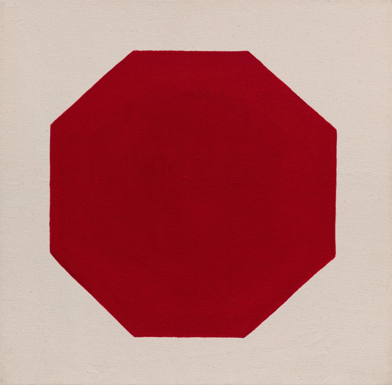 Julie Umerle, Octagon (red), 2018