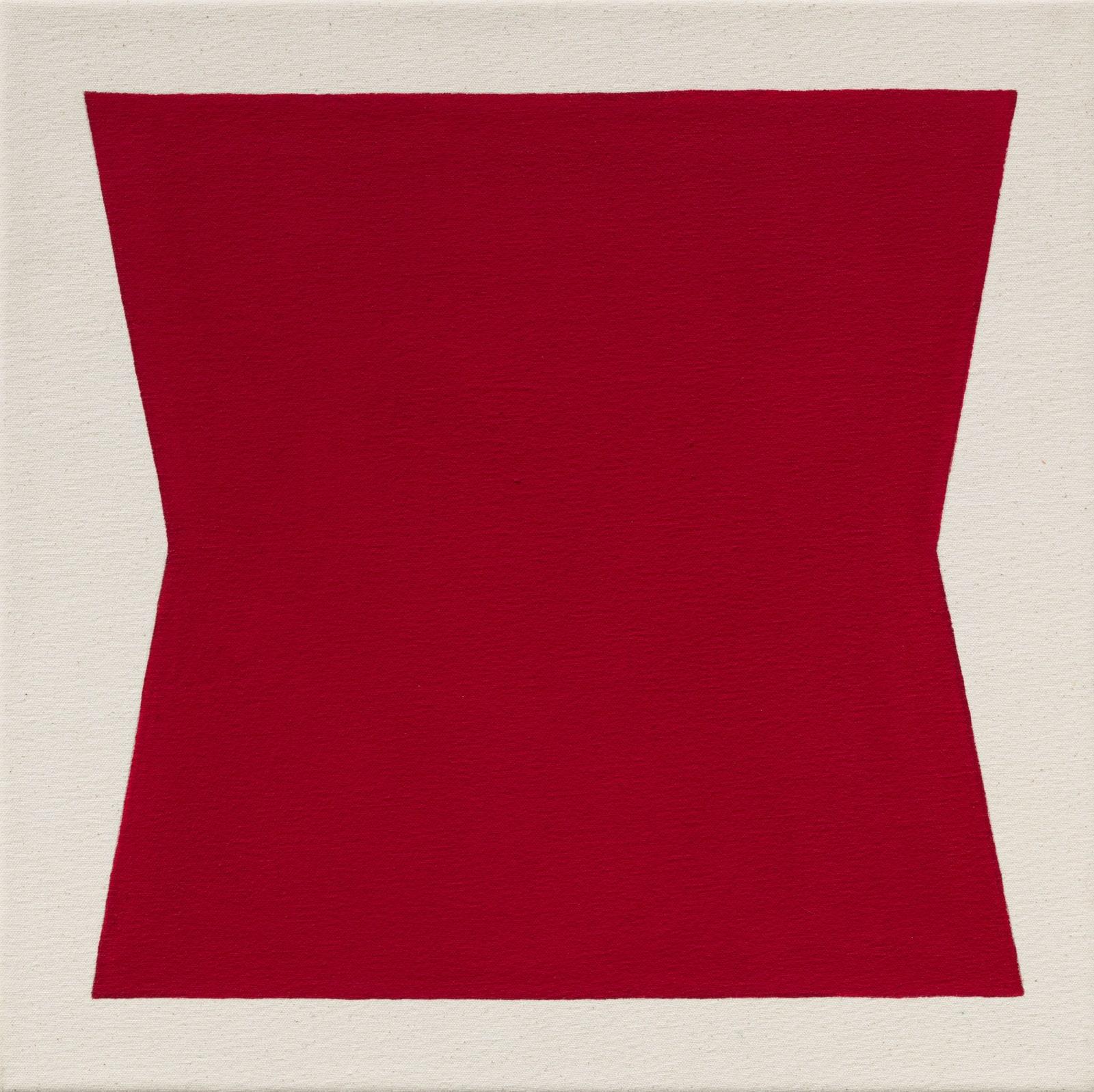 Julie Umerle, Hexagon (red), 2018