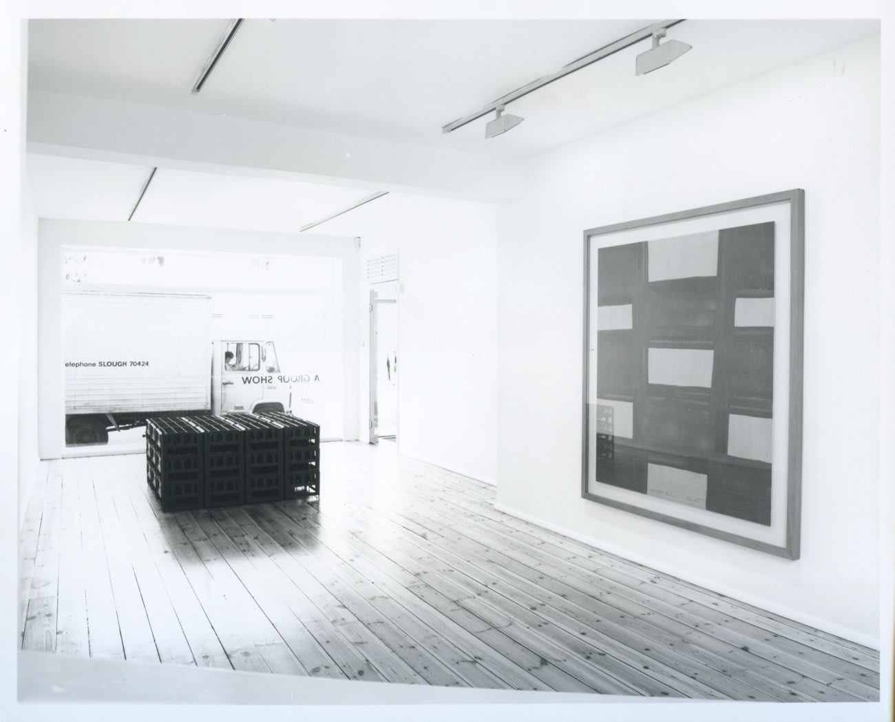 A Group Show, installation view, August 1990